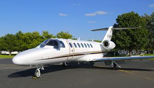 AirSprint's new Cessna Citation CJ3+ (C-GASW) in Wichita, Kansas.