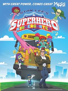 GENIUS BRANDS INTERNATIONAL'S NEW ANIMATED CHILDREN'S SERIES, SUPERHERO KINDERGARTEN, CREATED BY LEGENDARY STAN LEE