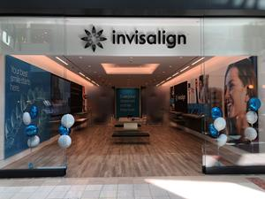 Invisalign Experience Location at Woodlands Mall, The Woodlands, TX.