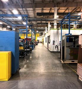 Capstone Turbine World Headquarters Factory Floor