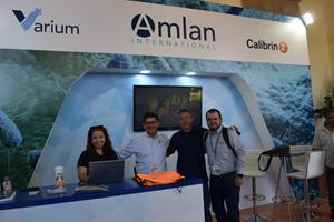 The Amlan Booth at AVEM 2019