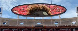 Daktronics Display at Arrowhead Stadium