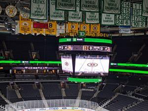 New Daktronics high-resolution displays installed at TD Garden