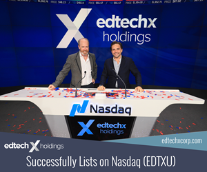 EdTechX Holdings - NASDAQ IPO