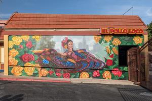 El Pollo Loco's New Mural at Alvarado Street Restaurant