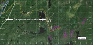Georgia Lake Lithium Property