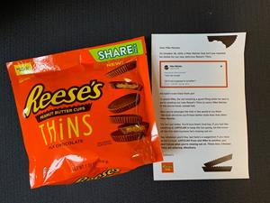 Consumer Letter with Reese's THiNS
