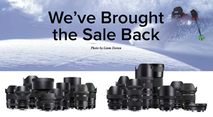 Sigma Holiday Sale