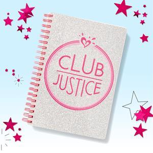 Club Justice Pop Up Perk Journal