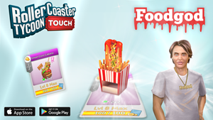 RollerCoaster Tycoon Touch - Foodgod Hot Dog