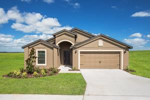The Estero Floor Plan is available at Meadow Ridge and The Ridge at Swan Lake.