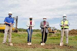 Chart Industries breaks ground at new parts, repair, service and leasing facility