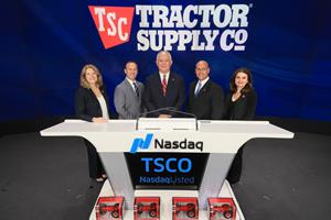 Tractor Supply Company Celebrates 80th Anniversary of Operations with Nasdaq Closing Bell Ceremony
