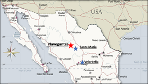 Navegantes Project Location