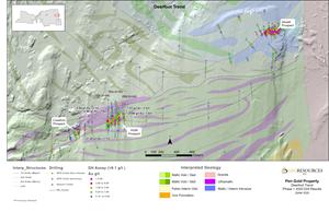 Figure 5: Plan Map of Deerfoot Corridor (HGM Prospect)