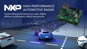 NXP Accelerates Time to Market for Automotive Radar Applications with New Radar Solution