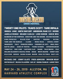 Boston Calling Music Festival 2019 lineup