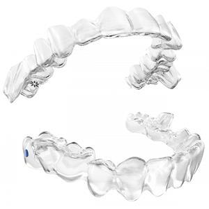 Invisalign treatment with mandibular advancement