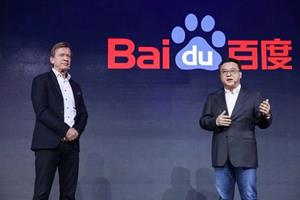 Håkan Samuelsson, president and chief executive of Volvo Cars, had a dialogue with Dr. Ya-Qin Zhang, President of Baidu