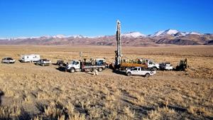 Nevada Exploration's First 2020 RC Drill Hole - January 6, 2020