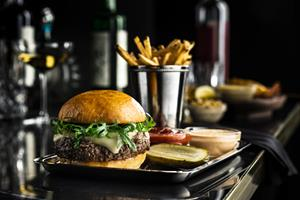 Del Frisco's Double Eagle Steakhouse Dry-Aged Burger