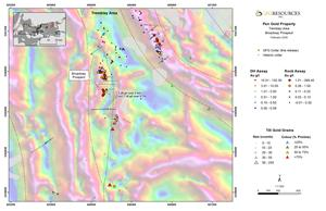 Figure 3: Plan Map of the Tremblay Area and 2019 Drill Results