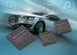 Broadcom Automotive Ethernet Portfolio: Gigabit-capable PHY, Secure Switch and Smart Camera MCU Devices