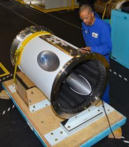 Artemis 1 Jettison Motor at Aerojet Rocketdyne Orange, VA