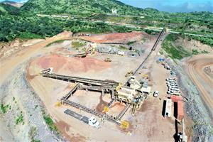 Cerro Pelon crushing circuit