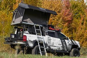 Gentex's Michigan-Themed Truck