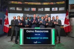 Osino Resources Opens the Market