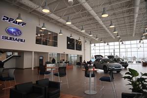 Pfaff Subaru is now open in Guelph