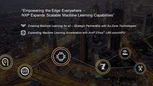 NXPはスケーラブルな機械学習製品ポートフォリオと機能を拡充