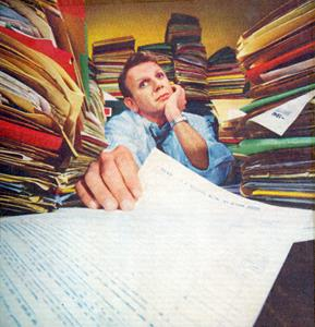 Henry Bloch in Paperstacks 1960s