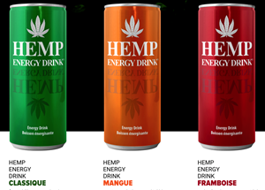 Hemp Energy Drink 3 Flavours