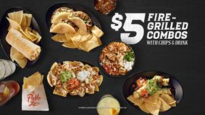 El Pollo Loco's New $5 Fire-Grilled Combos