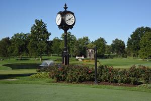 Midlothian Country Club Clock