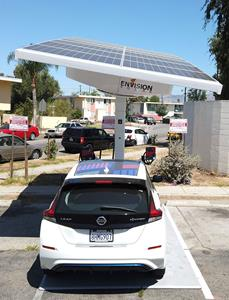Envision Solar-Envoy-LACI-Solar EV Charging
