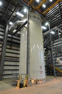 Aerojet Rocketdyne Vacuum Chamber Casting Bell