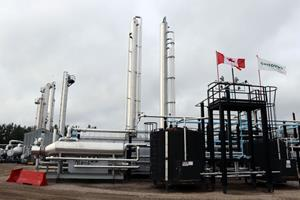 Wolf Lake natural gas plant