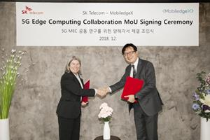 5G Edge Computing Collaboration MoU Signing Ceremony