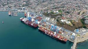 Terminal Pacífico Sur Valparaíso, Chile