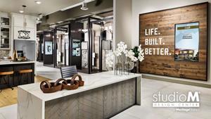 Meritage Homes Studio M lobby
